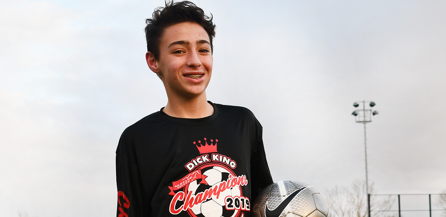 Injuries are on the rise among athletic kids like Daniel